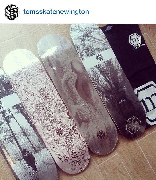 Stockist! Toms Skate Newington - Memorial Skateboards