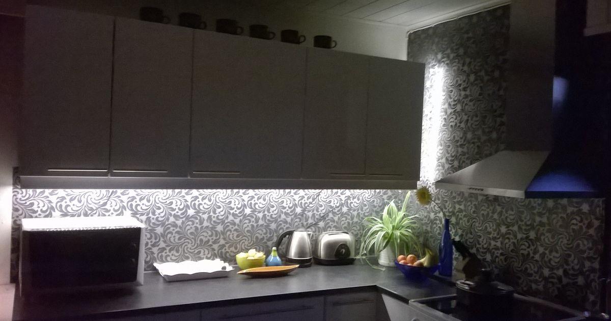 Keittiövalaistus LED nauhalla  Elämäni valot