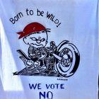 Ennen kansanäänestystä pyrittiin vaikuttamaan Eii-äänipottiin. Kuva: Sanna Välitalo