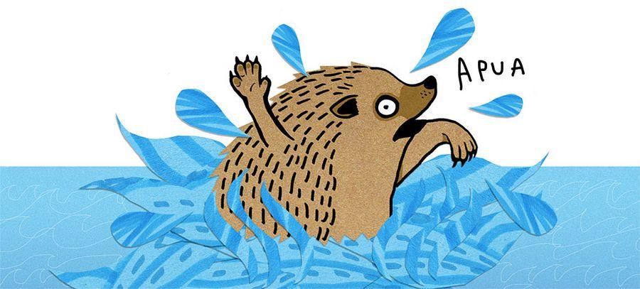 Liian aikainen kevät aiheuttaa ongelmia myös villieläimille. Yle Uutiset kertoi tänään, kuinka poikkeuksellisen märät kelit ovat koitumassa usean siilin kohtaloksi. Talvipesään tullut vesivahinko herättää siilin horroksesta eikä kastunut siili pärjää lopputalven pakkasissa.