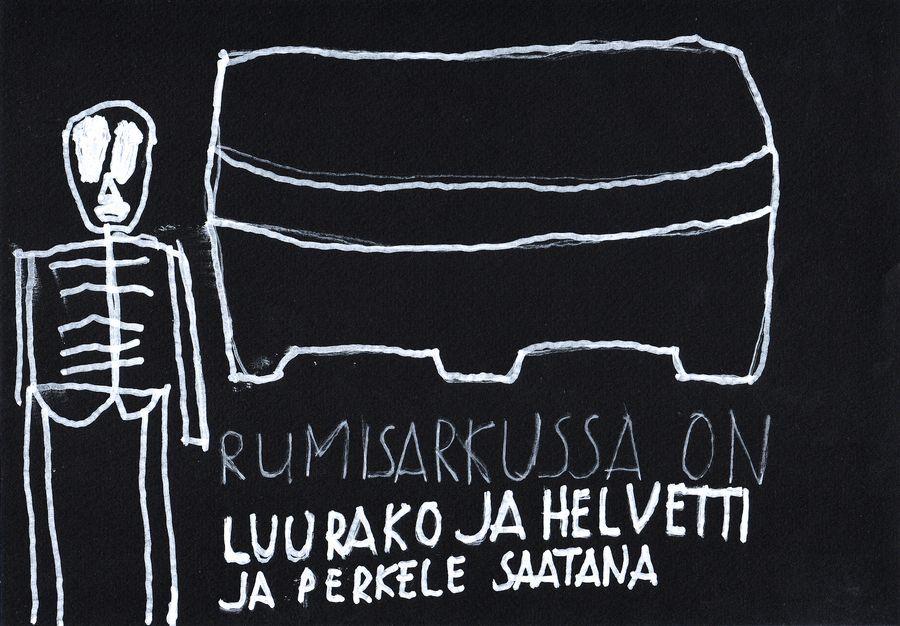 Kalevi Helvetin Luuranko ja helvetti -teos.