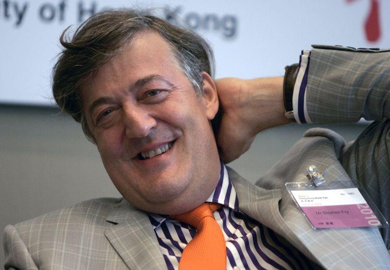 Stephen Fry. EPA/ALEX HOFFORD
