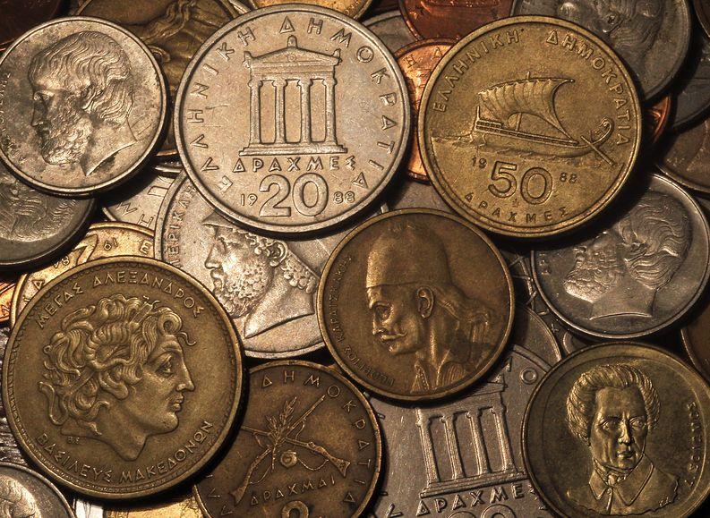 Euroa edeltävä raha oli Kreikassa drakma. Kuva: EPA