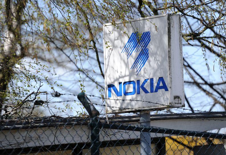Vanha Nokian kyltti Bochumissa Saksassa vuonna 2013.