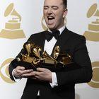 Eniten Grammyja voittanut brittilaulaja Sam Smith. Kuva: EPA/ Paul Buck