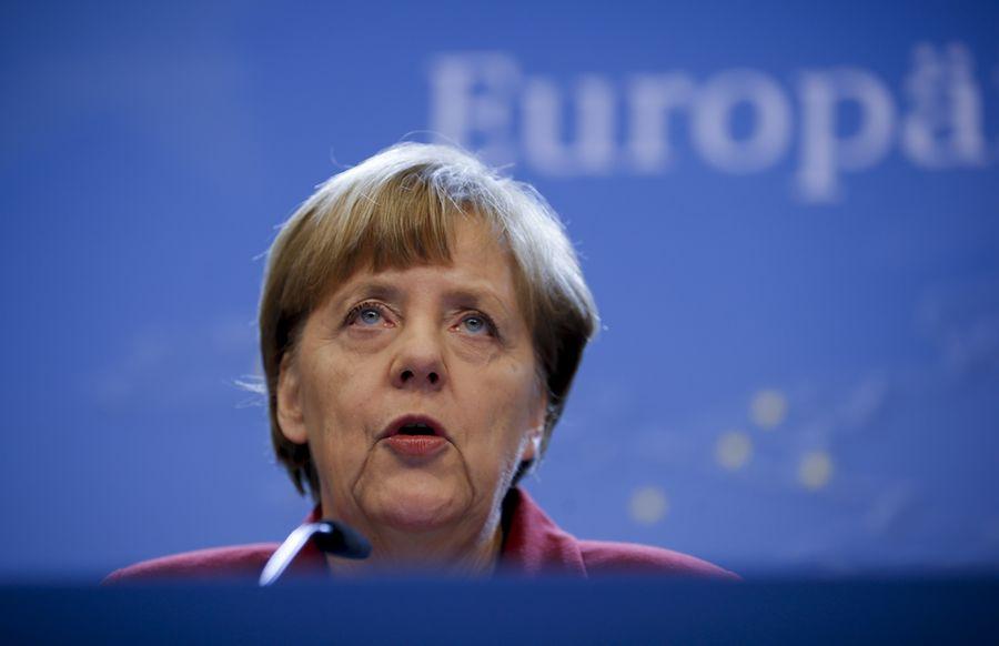 Angela Merkel. Kuva: EPA/OLIVIER HOSLET