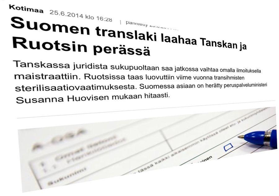 Näin Yle Uutiset kirjoitti aiheesta vuosi sitten.
