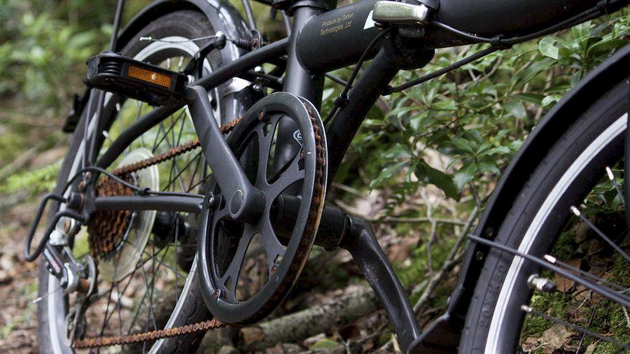 Hylätty pyörä. Kuva: Karoliina Kantola/Kioski
