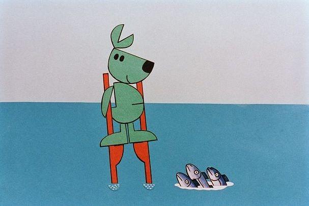 Älä ole kala, ole Kössi Kenguru! Kuva: Yle.