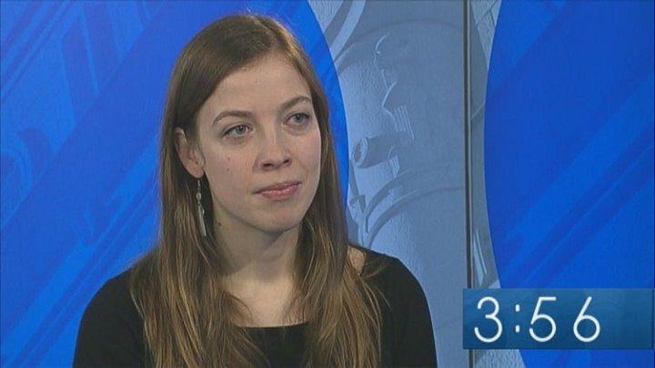 Li Andersson Kuva: Yle