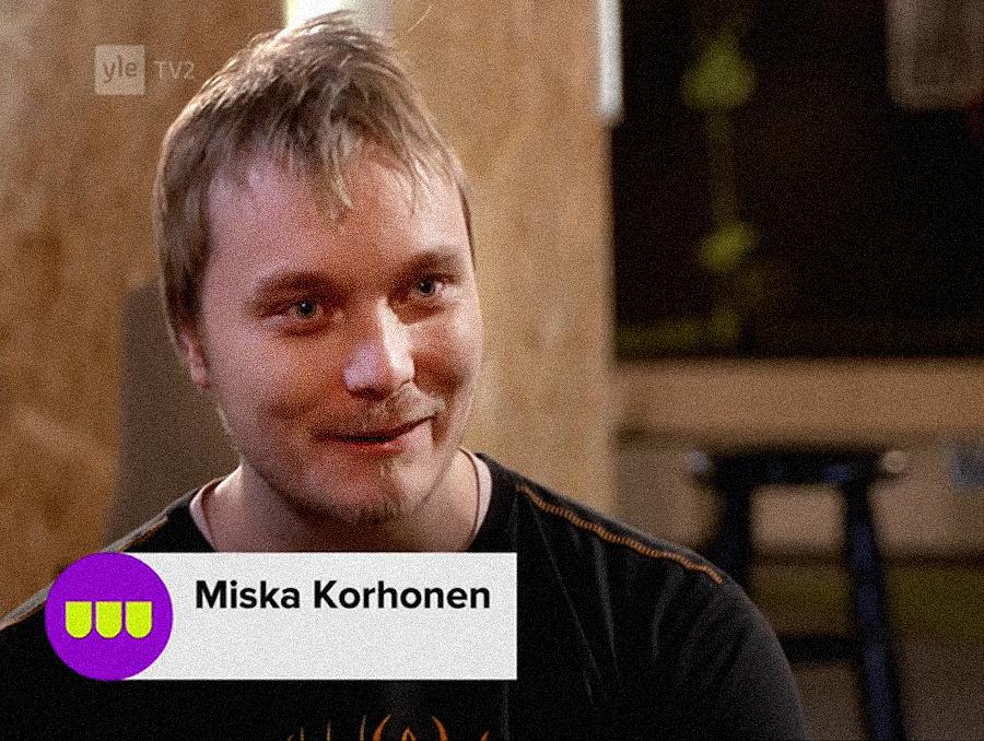 24-vuotias opiskelija Miska Korhonen.