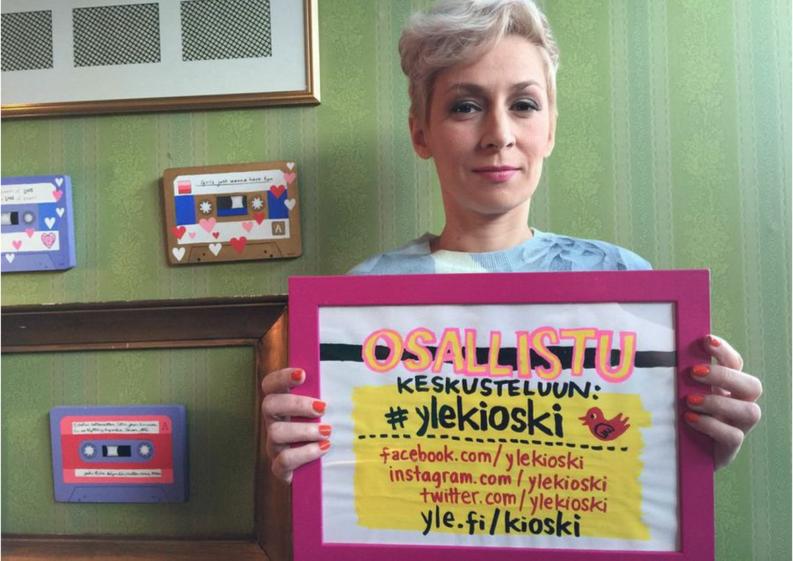 Osallistu keskusteluun Twitterissä tunnisteella #ylekioski.