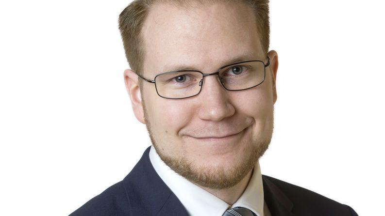 Olli Immonen (ps) Kuva: Eduskunta