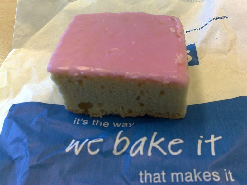 Tottenhamin kakku. Kuva: Wikipedia Commons.