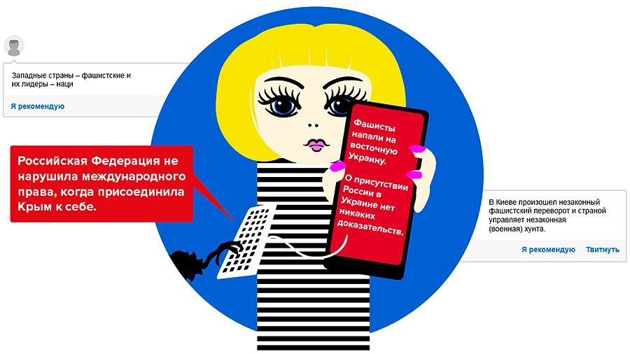 На сайтах, используемых финнами, рассказывают анонимно истории о злом западе и доброжелательной России. Источник: Интернет.