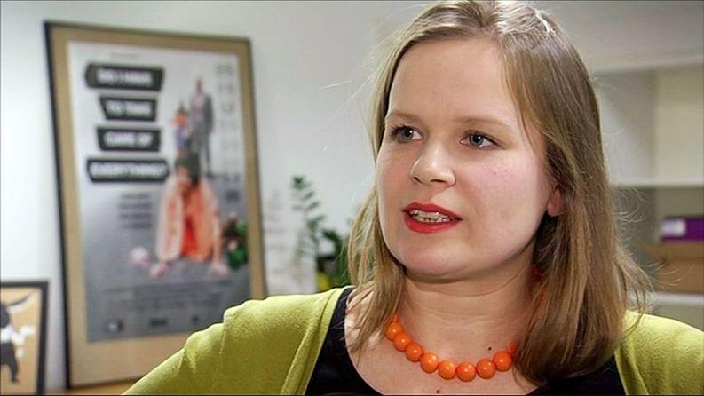Selma Vilhunen. Kuva: Yle.