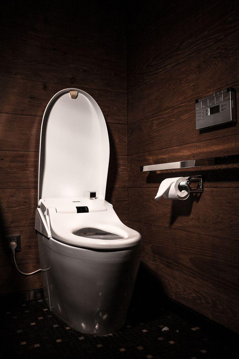 Hyatt-hotellin ravintolan vessa. Kuva: Nina Karlsson