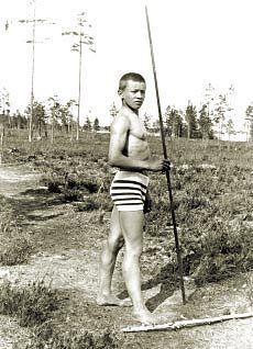 Nuori Lauri Pihkala. Kuva: Wikimedia Commons