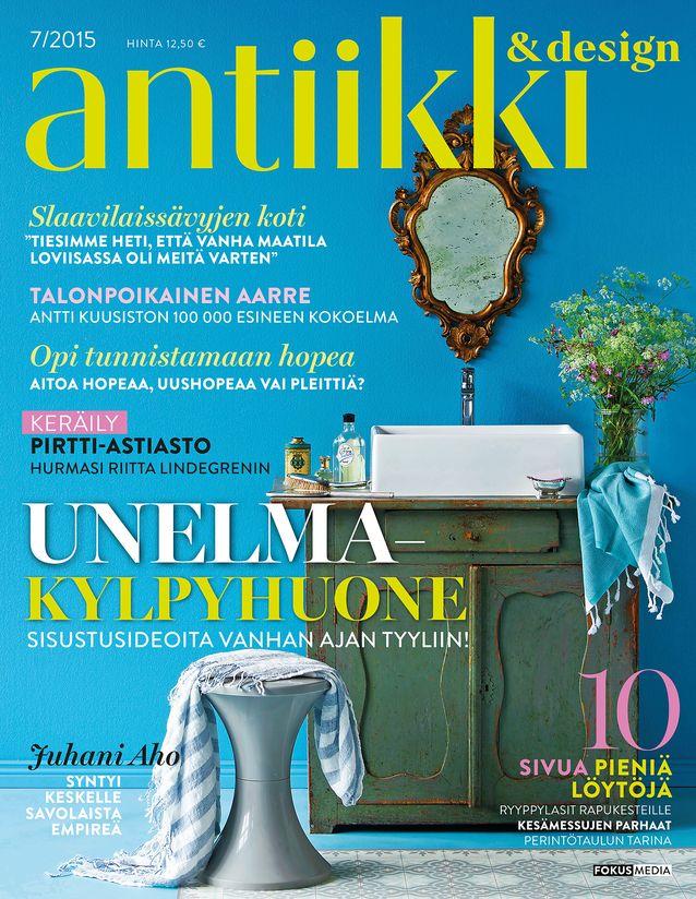 Antiikki & Design 7/2015 kansi