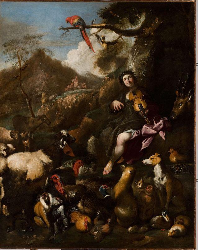 Kuinka monta eläintä tästä maalauksesta löydät?
