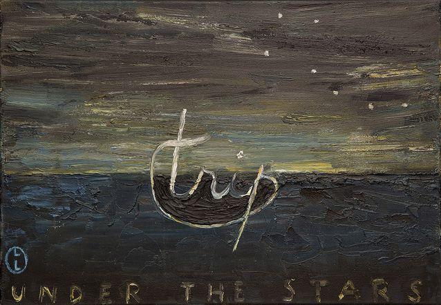 Leena Luostarinen: Trip - Under the Stars, 1986. Yksityiskokoelma, kuva Salon taidemuseo.
