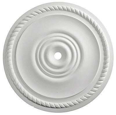 Klassisen yksinkertainen kipsirosetti, halkaisija 300 mm, 50 e, Domus Classica.