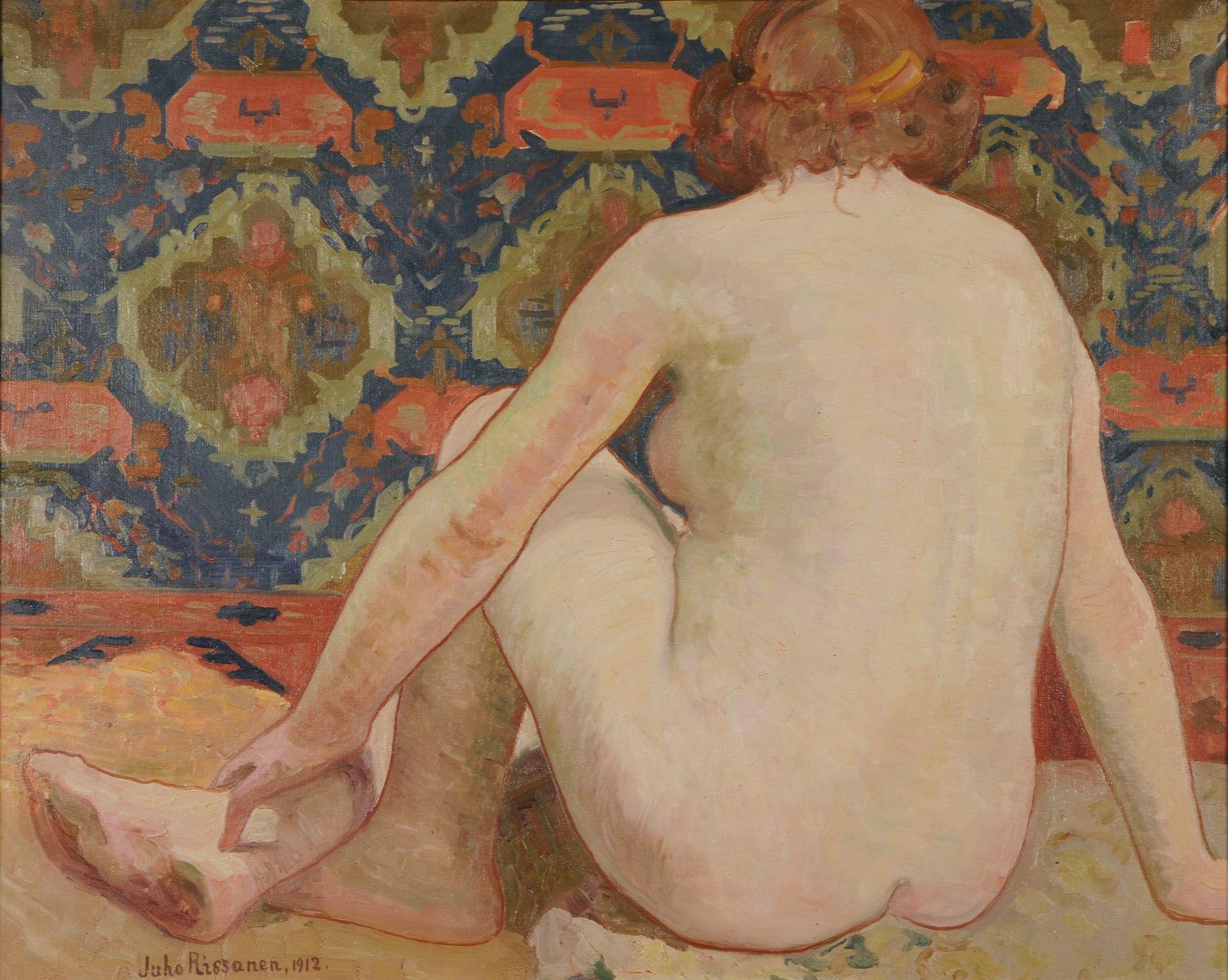 alaston naisvartalo Mantta-Vilppula