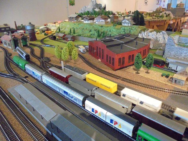 Näyttelyssä oli junia kaikista alppimaista: Sveitsistä, Italiasta, Saksasta ja Itävallasta. harrastajilla on junia myös pohjoismaisia, hollantilaisia ja unkarilaisia junia.