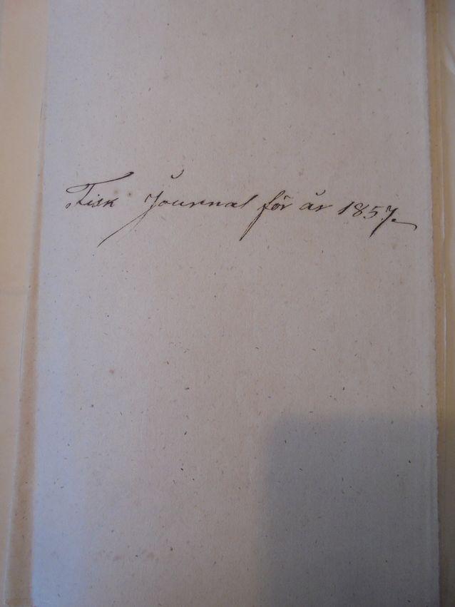 Kalapäiväkirja vuodelta 1857. Löytyisiköhän siitä sukupuuttoon kalastettuja lajeja?