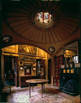 Aamiaishuone. Kuva Derry Moore​, By courtesy of the Trustees of Sir John Soane's Museum​