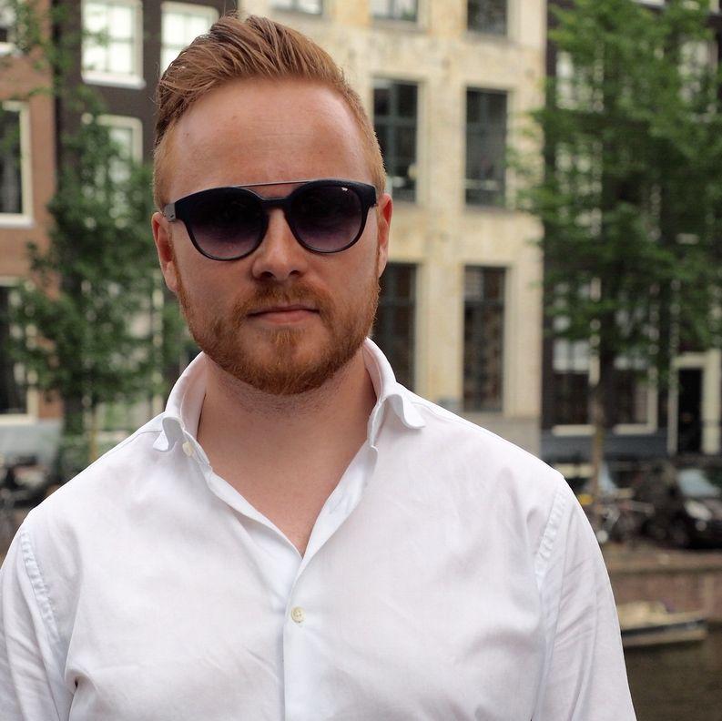 Travelling under Amsterdam sun