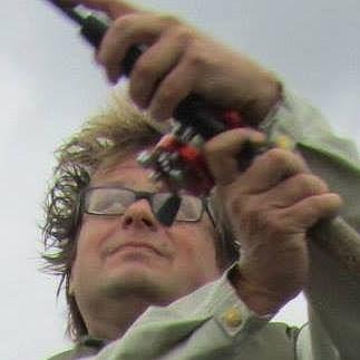 Fiske är Jan Fasts andra passion vid sidan av arkeologi. Bild: Henrik Gahmberg.