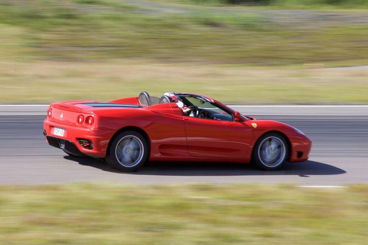 Radalla oli myös yksi Ferrari