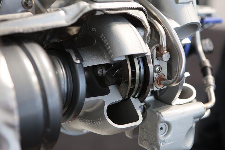 Säädettävä VTG-ahdin on toinen laatuaan sarjavalmisteisissa bensiinimoottoreissa