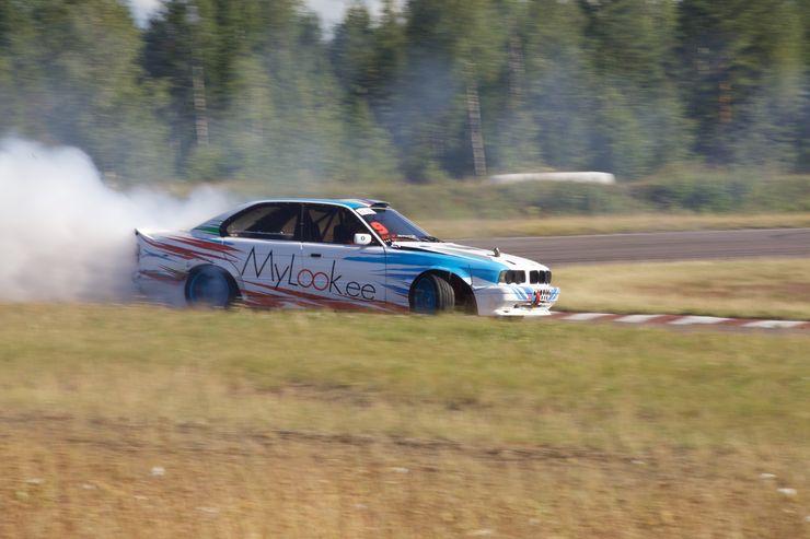 BMW:t ovat suosittuja drifter-aihioita