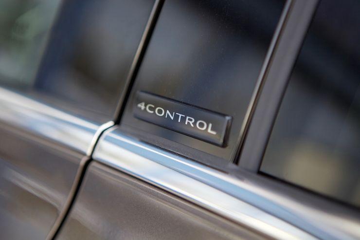 Nelipyöräohjaus kulkee nimellä 4Control