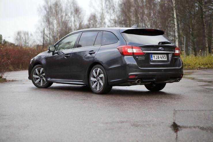 Subarun ulkomuodoissa ei ole turhaa kikkailua
