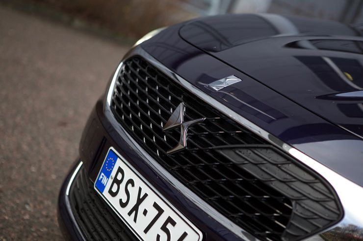 Keulalta ei löydy enää Citroënin merkkiä