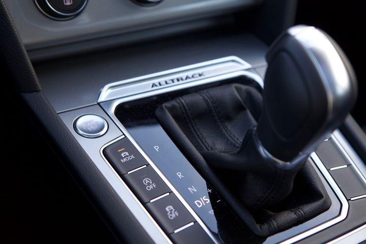 Ajotilan valinta on Alltrack-mallissa vakiona