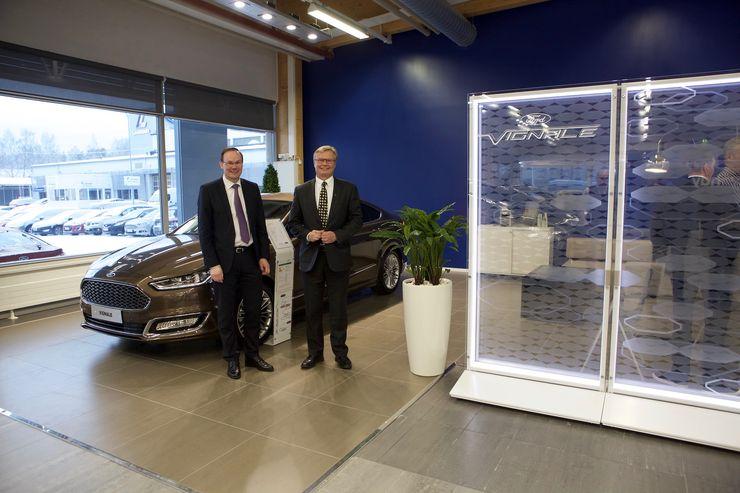FordStore-myymälöistä löytyy erillinen alue Vingale-malliston autoille