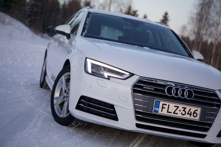 Sukunäkö Audin muuhun mallistoon on vahva