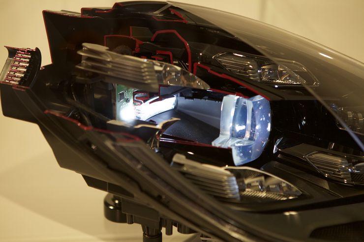 LED-ajovalot ovat vakioana