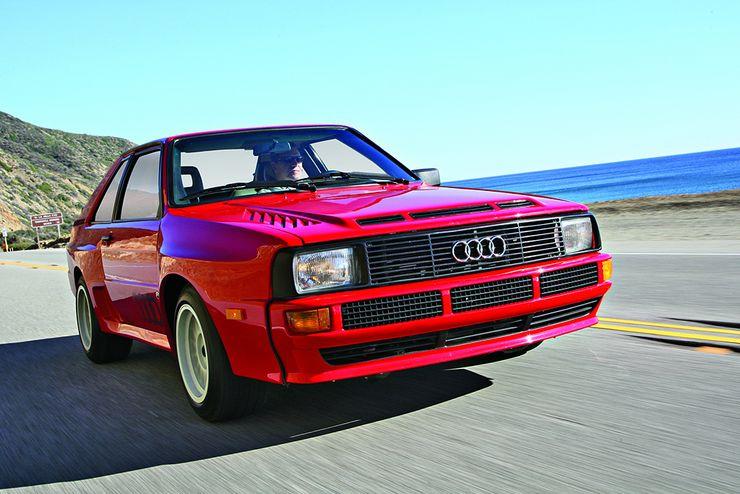 """Lichten valitsema klassikko: Audi Sport quattro. """"Audi on yhtä kuin quattro. Tämä auto on nelivedon ruumiillistuma."""""""