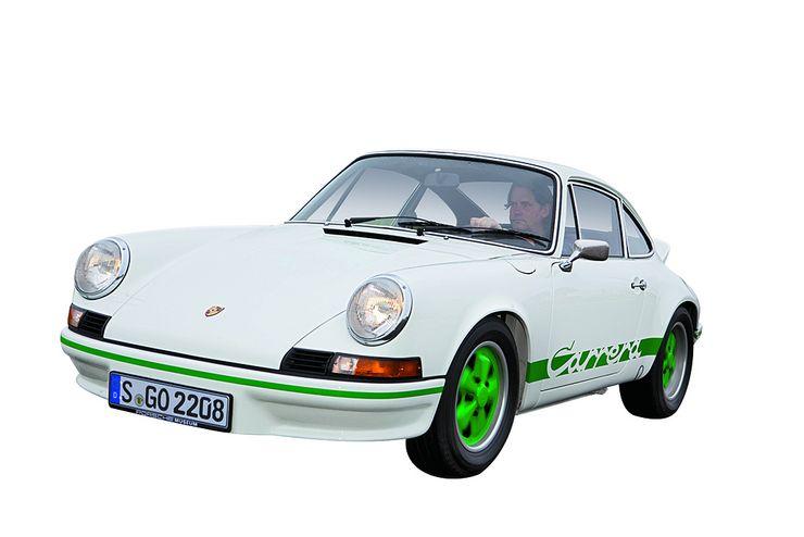 """Lichten valitsema ikoni: Porsche 911 Carrera RS 2.7. """"Design-ikoni, joka on inspiroinut minuakin. Yksinkertainen on kaunista. Ja kaikki tunnistavat sen heti."""""""