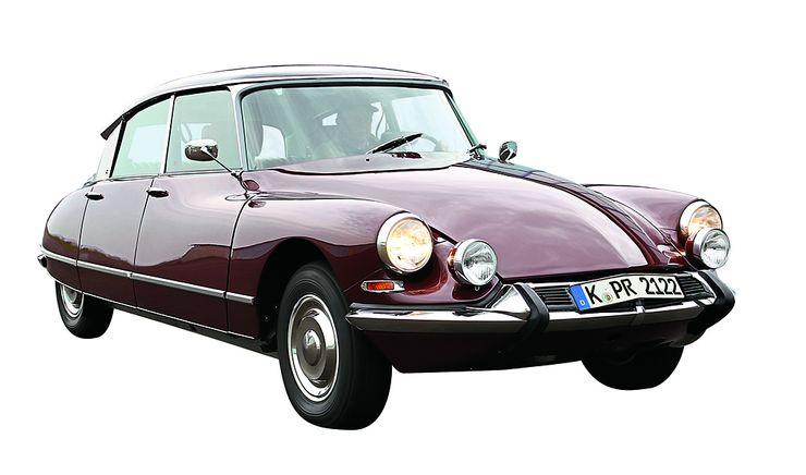 """De Silvan valitsema klassikko: Citroën DS. """"Upea auto, etenkin alkuperäisessä muodossaan 50-luvulla. Tähän päivään mennessä yksikään toinen auto ei ole ollut yhtä paljon aikaansa edellä."""""""