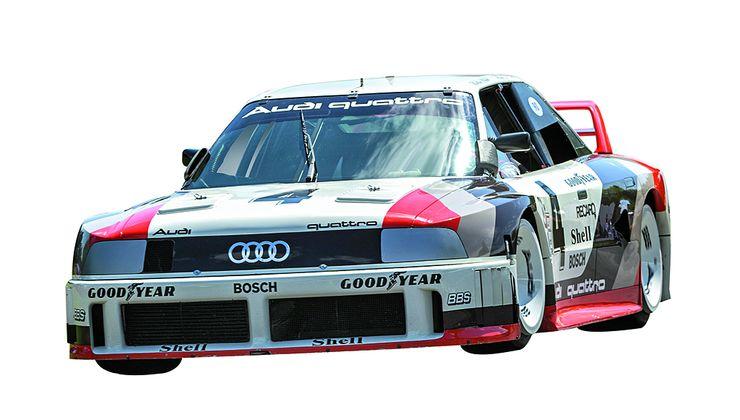 """Lichten valitsema nuoruuden ihanne: Audi 90 quattro IMSA-GTO. """"Korisarja ja tekniikka luovat autolle koko sen olemuksen. Siksi tämä on yksi suosikkejani."""""""