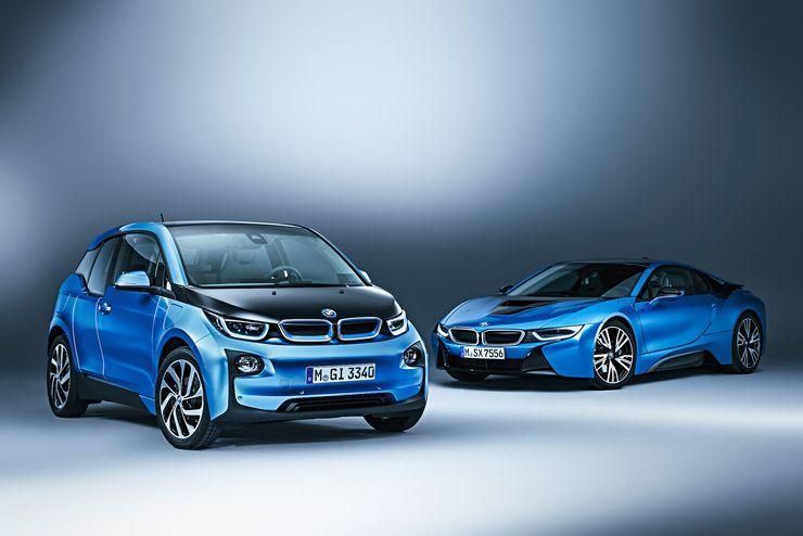 BMW:n i-mallisto koostuu i3- ja i8-malleista