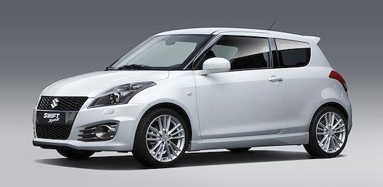 Suzuki Swift Sport >> Uusi Suzuki Swift Sport Esilla Frankfurtin Autonayttelyssa