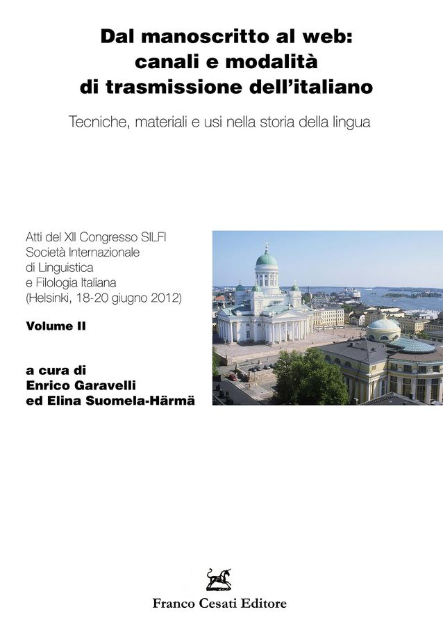 Silfin XII. kongressin kongressiaktat, kuva: Franco Cesati editore.