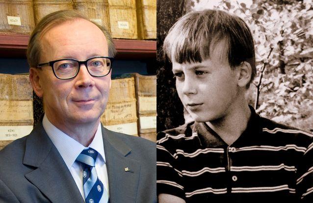 Jussi Nuorteva vuonna 2014 ja 1968.